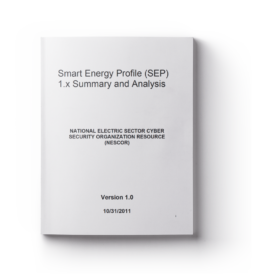 Smart Energy Profile (SEP) 1.x Summary and Analysis, Version 1.0