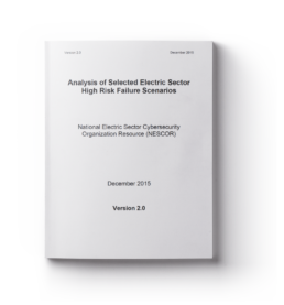 Analysis of Selected Electric Sector High Risk Failure Scenarios – Version 2.0