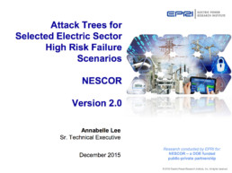 Attack Trees NESCOR Slide Deck