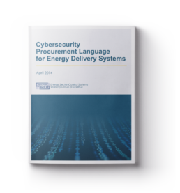 Cybersecurity Procurement Language for Energy Delivery Systems